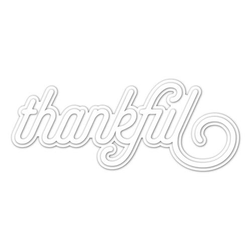 CZ Design Wafer Dies THANKFUL 2 czd38 Preview Image