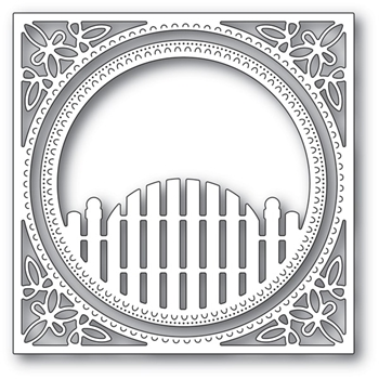 Memory Box COTTAGE GATE FRAME Craft Die 94077