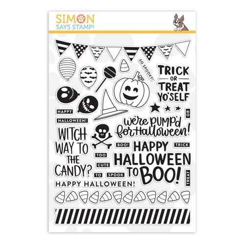 Simon Says Clear Stamps TRICK OR TREAT YO'SELF sss101829  Preview Image