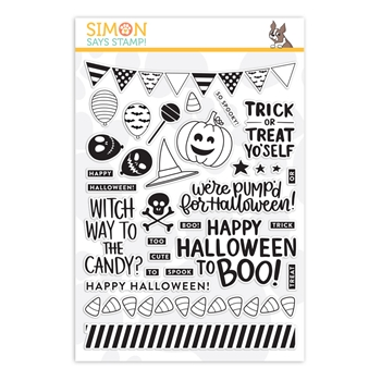 Simon Says Clear Stamps TRICK OR TREAT YO'SELF sss101829