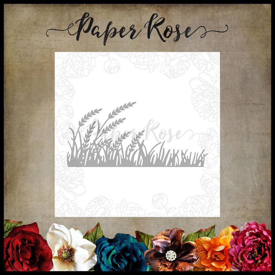 Paper Rose WHEAT AND GRASS Craft Die 17676 zoom image