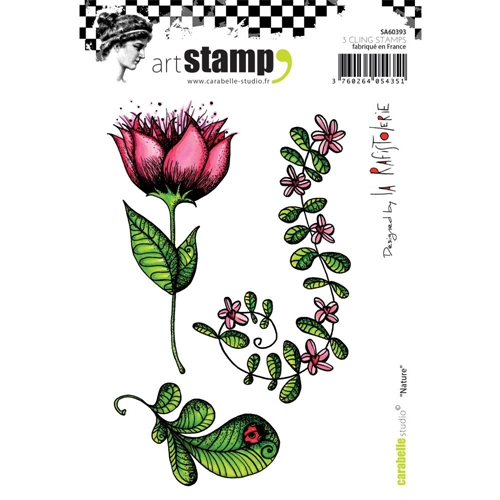 Carabelle Studio NATURE Cling Stamp sa60393* Preview Image