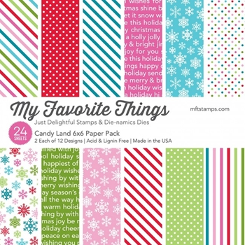 My Favorite Things CANDY LAND 6x6 Paper Pack 8339
