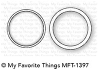 My Favorite Things MINI CIRCLE SHAKER WINDOW AND FRAME Die-Namics MFT1397 Preview Image