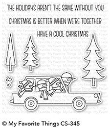 My Favorite Things COOL CHRISTMAS Clear Stamps CS345