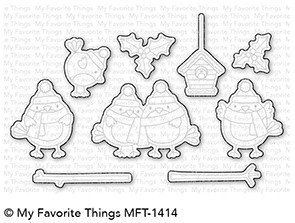 My Favorite Things TWEET HOLIDAYS Die-Namics MFT1414 Preview Image
