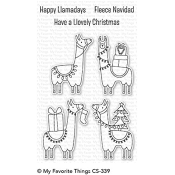 My Favorite Things HAPPY LLAMADAYS Clear Stamps CS339
