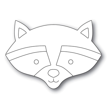 Simon Says Stamp BIG PICTURE BOOK RACCOON Wafer Dies s571 Fun and Festive