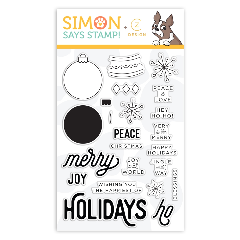 CZ Design Clear Stamps ORNAMENTAL CZ26 Fun and Festive zoom image