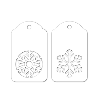 Simon Says Stamp SNOWFLAKE TAGS Wafer Dies sssd111901 Fun and Festive
