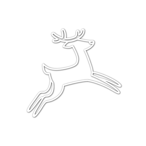 Simon Says Stamp DANCING DEER Wafer Die sssd111835 Fun and Festive Preview Image