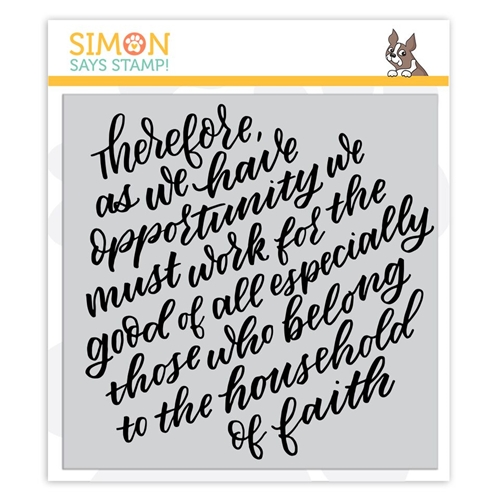 Simon Says Cling Rubber Stamp THEREFORE sss101942 Fun and Festive Preview Image