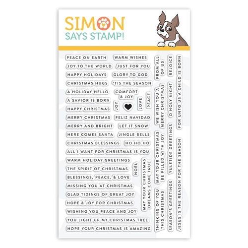 Simon Says Clear Stamps TINY WORDS CHRISTMAS sss101893 Fun and Festive Preview Image