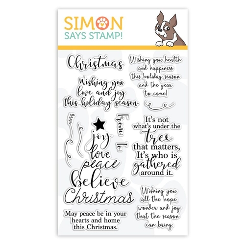 Simon Says Clear Stamps CHRISTMAS WISHES sss101888 Fun and Festive Preview Image