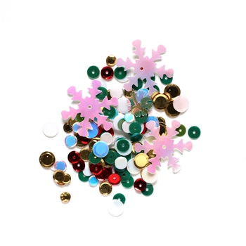 Simon Says Stamp HOLIDAY WREATH Sequins holiw1010 Fun and Festive