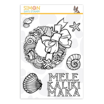 Simon Says Clear Stamps MELE KALIKIMAKA sss101915 Fun and Festive