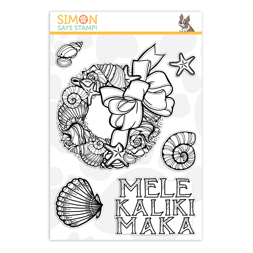 Simon Says Clear Stamps MELE KALIKIMAKA sss101915 Fun and Festive zoom image