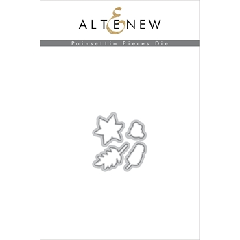 Altenew POINSETTIA PIECES Dies ALT2696