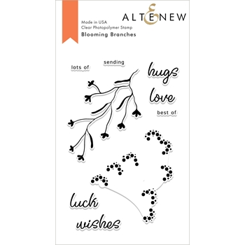 Altenew BLOOMING BRANCHES Clear Stamps ALT2676