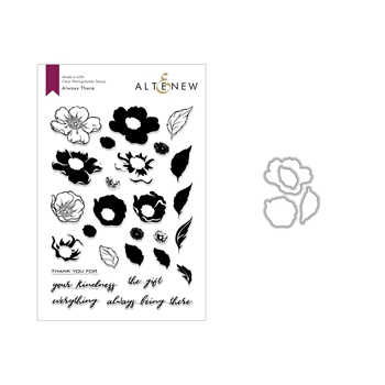 Altenew ALWAYS THERE Clear Stamp and Die Set ALT2675
