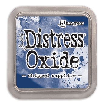 Tim Holtz Distress Oxide Ink Pad CHIPPED SAPPHIRE