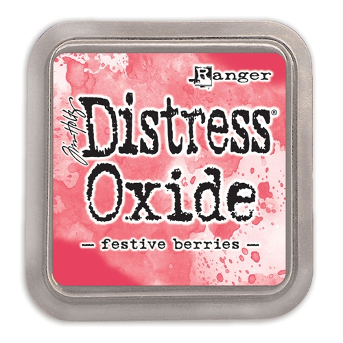 Tim Holtz Distress Oxide Ink Pad FESTIVE BERRIES Ranger tdo55952 Preview Image