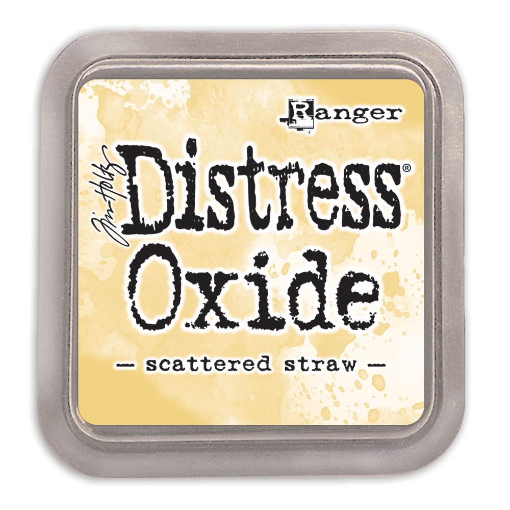 Tim Holtz Distress Oxide Ink Pad SCATTERED STRAW Ranger tdo56188 zoom image