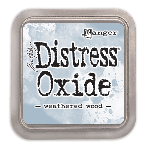 Tim Holtz Distress Oxide Ink Pad WEATHERED WOOD Ranger tdo56331 Preview Image