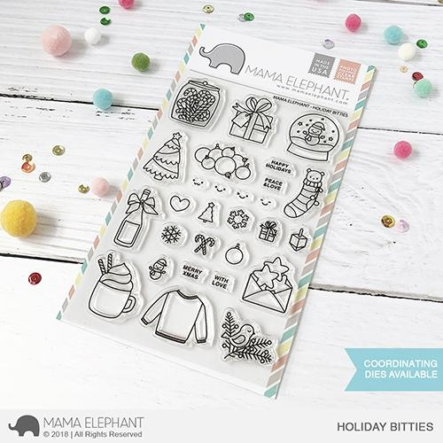 Mama Elephant Clear Stamps HOLIDAY BITTIES  zoom image
