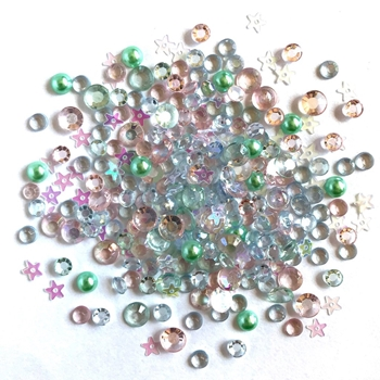 Buttons Galore and More Sparkletz ALL IS CALM Embellishments SPK122