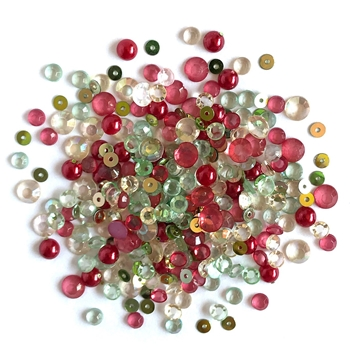 Buttons Galore and More Sparkletz HOME SPUN HOLIDAY Embellishments SPK126