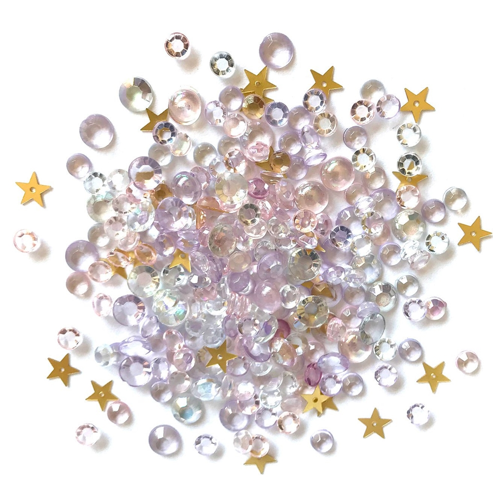 Buttons Galore and More Sparkletz WINTER WISHES Embellishments SPK123 zoom image