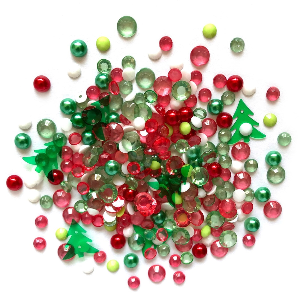 Buttons Galore and More Sparkletz CHRISTMAS CARNIVAL Embellishments SPK125 zoom image