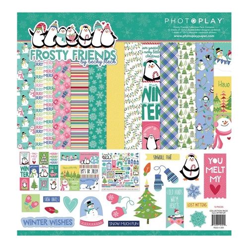 PhotoPlay FROSTY FRIENDS 12 x 12 Collection Pack ffr9129 Preview Image