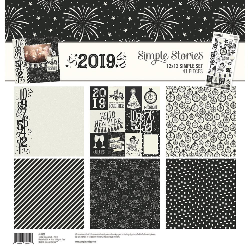 Simple Stories 2019 12 x 12 Collection Kit 10407* zoom image