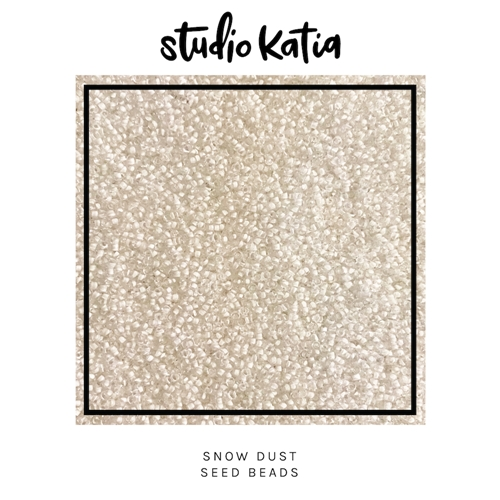 Studio Katia SNOW DUST Seed Beads sk2621* Preview Image