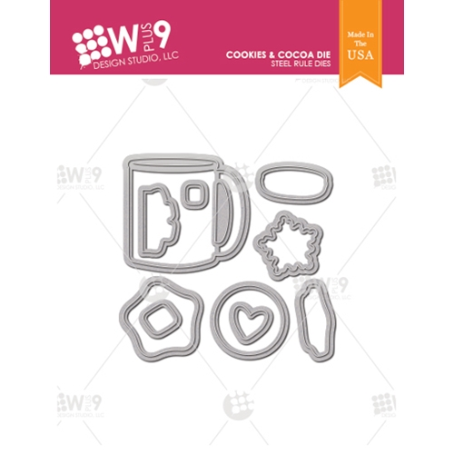 Wplus9 COOKIES AND COCOA Designer Dies wpln-0219 Preview Image