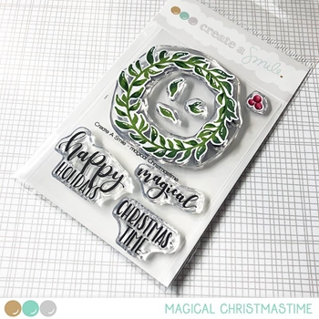 Create A Smile MAGICAL CHRISTMAS Clear Stamps clcs93