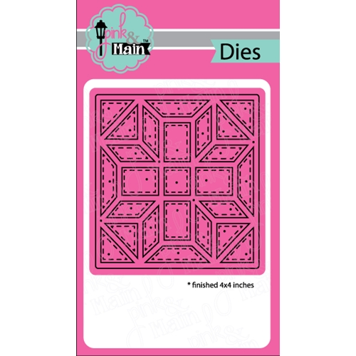 Pink and Main QUILT SQUARE 1 Dies PNM183 Preview Image
