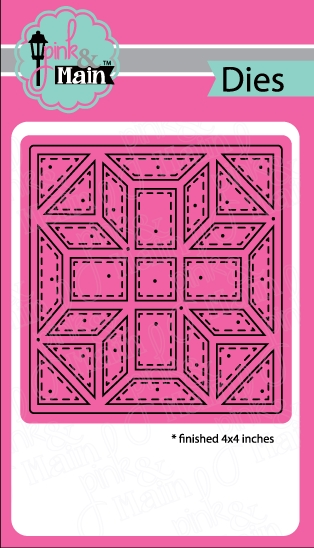 Pink and Main QUILT SQUARE 1 Dies PNM183 zoom image