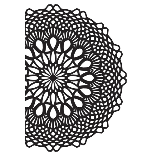 Kaisercraft CROCHET DOILY Embossing Folder 4x6 Inches EF294 Preview Image