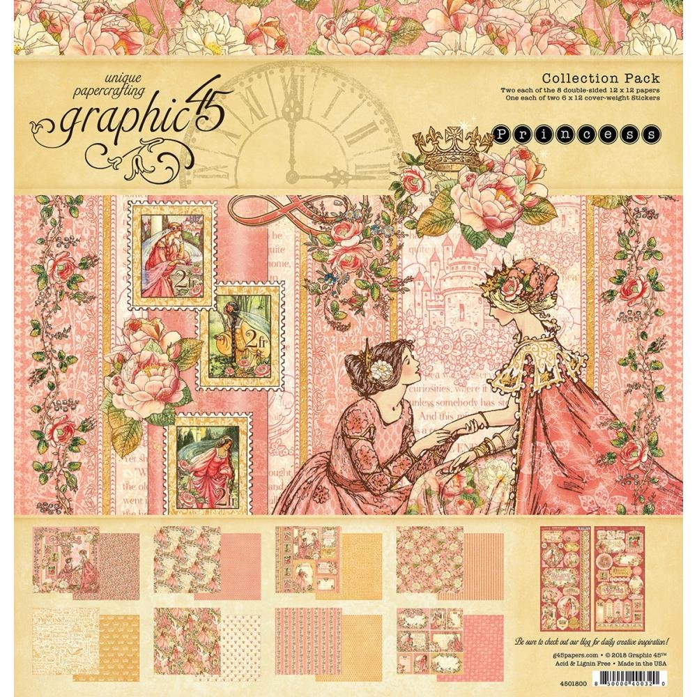 Graphic 45 PRINCESS 12 x 12 Collection Pack 4501800 zoom image