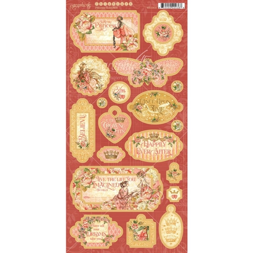 Graphic 45 PRINCESS Chipboard 4501803* Preview Image