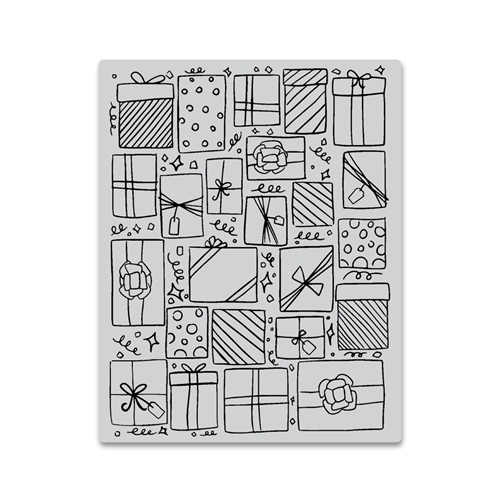 Hero Arts Cling Stamp PRESENTS BACKGROUND CG754 Preview Image