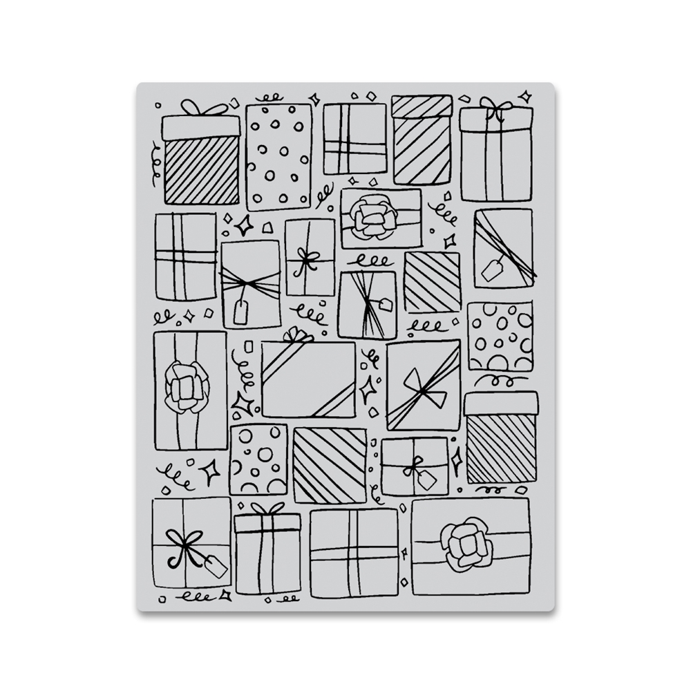 Hero Arts Cling Stamp PRESENTS BACKGROUND CG754 zoom image
