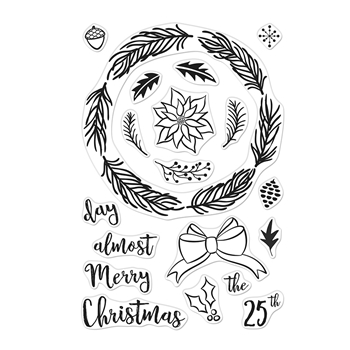 Hero Arts Clear Stamps WINTER WREATH CM311