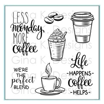 Gina K Designs PERFECT BLEND Clear Stamps 3290