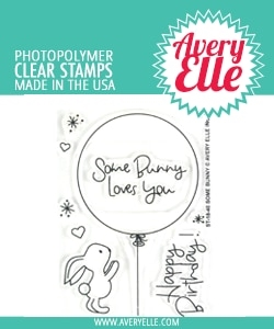 Avery Elle Clear Stamps SOME BUNNY ST-18-40 zoom image