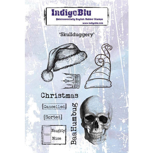 IndigoBlu Cling Stamp SKULLDUGGERY ind0474 Preview Image