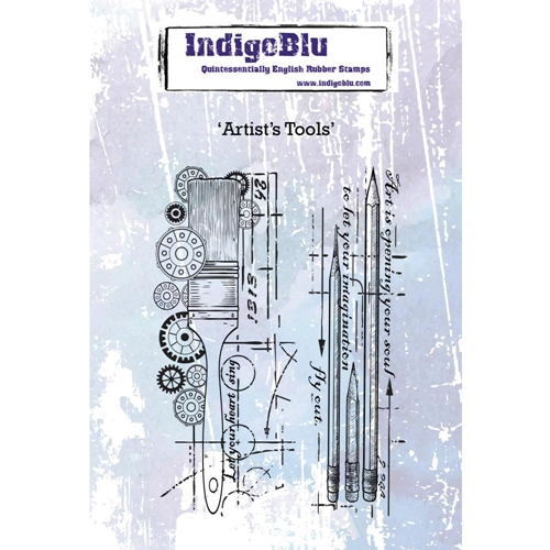 IndigoBlu Cling Stamp ARTISTS TOOLS ind0442 Preview Image